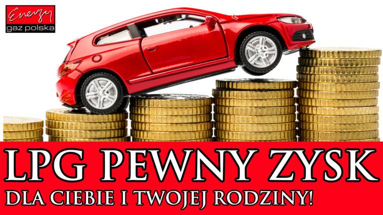 Kredyt na montaż LPG, czy jazda na Benzynie PB95?